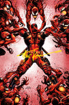 SIGNED W/ COA ABSOLUTE CARNAGE VS DEADPOOL #3 (OF 3) TYLER KIRKHAM VIRGIN EXCLUSIVE AC (12/30/2019)
