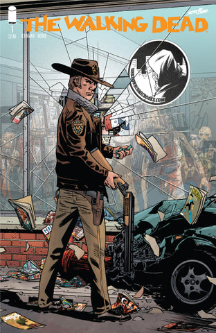WALKING DEAD #1 15TH ANNV VAR (MR) UNKNOWN COMIC BOOKS EXCLUSIVE 10/13/2018