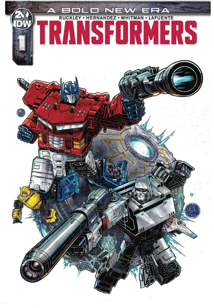 TRANSFORMERS #1 EDWARDS LYDIC EXCLUSIVE 3/20/2019