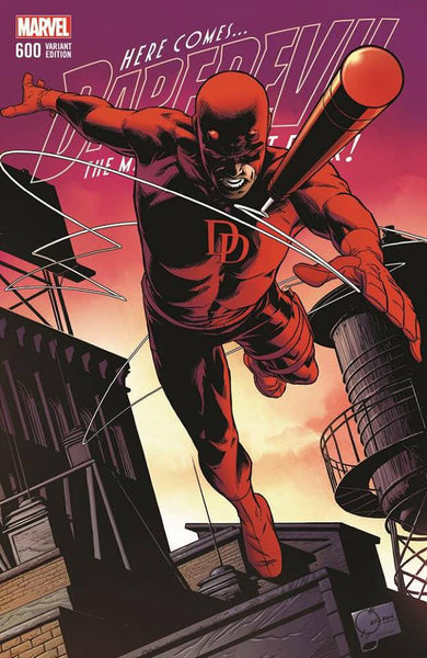 DAREDEVIL #600 JOE QUESADA EXCLUSIVE 3/28/2018