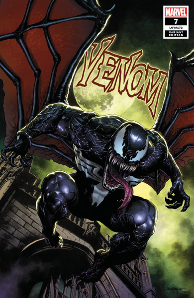 VENOM #7 UNKNOWN COMIC BOOKS SUAYAN CVR A 10/10/2018