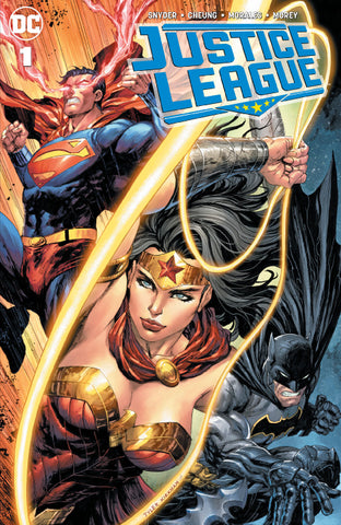 JUSTICE LEAGUE #1 UNKNOWN COMIC BOOKS KIRKHAM CVR A 6/6/2018