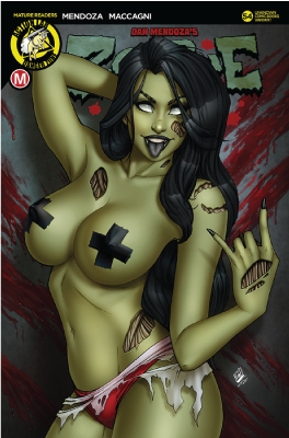 ZOMBIE TRAMP ONGOING #54 (MR) UNKNWON COMIC BOOKS RYAN KINCAID EXCLUSIVE RISQUE 12/5/2018