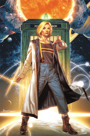 DOCTOR WHO 13TH #1 UNKNOWN COMIC BOOKS ANACLETO EXCLUSIVE VAR VIRGIN 11/7/2018