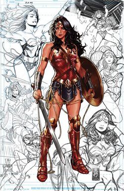 JUSTICE LEAGUE #1 MARK BROOKS EXCLUSIVES CON COVER 6/20/2018