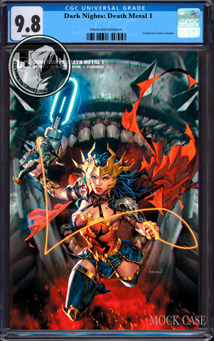 DARK NIGHTS DEATH METAL #1 (OF 6) UNKNOWN COMICS KAEL NGU EXCLUSIVE WONDER WOMAN VAR CGC 9.8 BLUE LABEL (12/29/2020)