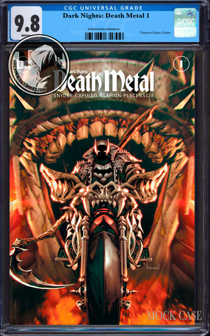 DARK NIGHTS DEATH METAL #1 (OF 6) UNKNOWN COMICS KAEL NGU EXCLUSIVE VAR CGC 9.8 BLUE LABEL (12/29/2020)