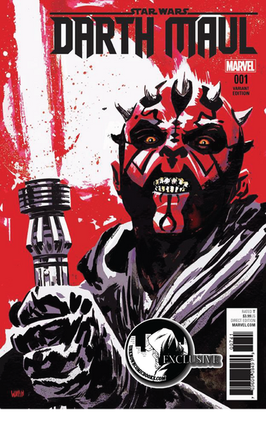 DARTH MAUL #1 (OF 5) UNKNOWN COMIC BOOKS EXCLUSIVE