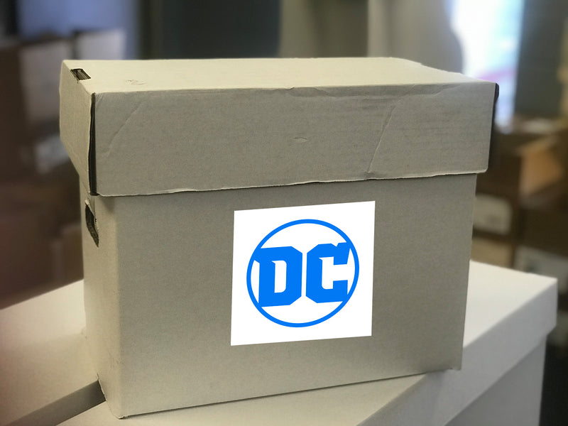 DC SHORT BOX FULL OF COMICS 75 -150 BOOKS (08/26/2020)
