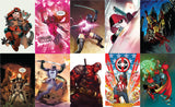 DEADPOOL VAR VIRGIN UNKNOWN COMIC BOOKS 10 PACK BUNDLE (10/30/2019)