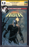 COSMIC GHOST RIDER #1 (OF 5) UNKNOWN COMIC BOOKS EXCLUSIVE DELL'OTTO CGC 9.8 SS YELLOW LABEL TBD SHIPPING DATE