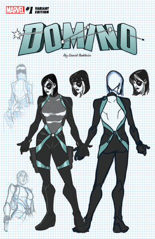 DOMINO #1 UNKOWN COMIC BOOKS EXCLUSIVE 4/11/2018