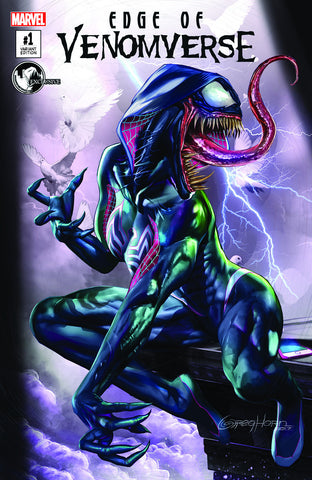 EDGE OF VENOMVERSE #1 UNKNOWN COMIC BOOKS EXCLUSIVE CVR A GREG HORN 6/28/2017