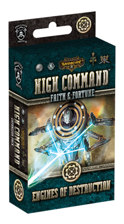 WARMACHINE High Command Faith & Fortune: Engines of Destruction Expansion