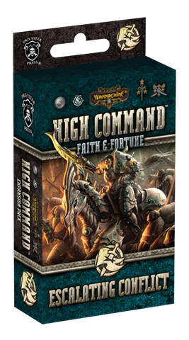 WARMACHINE High Command Faith & Fortune: Escalating Conflict Expansio