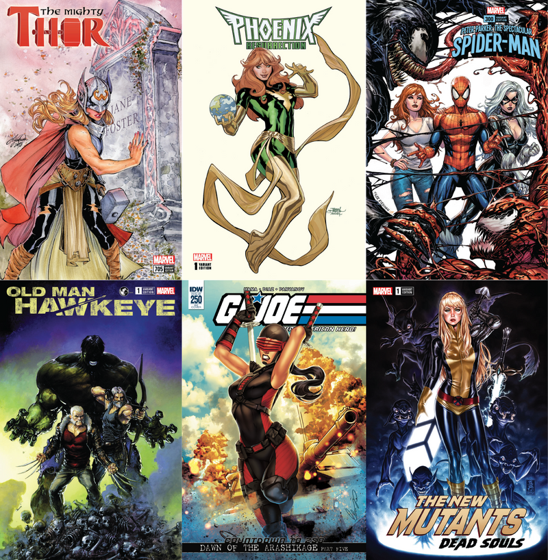 FCBD BUNDLE 6 PACK EXCLUSIVES