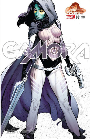 GAMORA #1 J. SCOTT CAMPBELL EXCLUSIVE CVA A