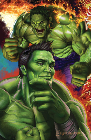 GENERATIONS BANNER HULK & TOTALLY AWESOME HULK #1 CONNECTING UNKNOWN COMIC BOOKS EXCLUSIVE HORN VIRGIN 8/2/2017