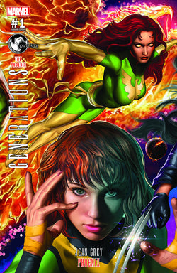 GENERATIONS PHOENIX & JEAN GREY #1 CONNECTING UNKNOWN COMIC BOOKS HORN VAR 8/9/2017