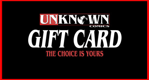 Unknown Comic Books - Gift Card