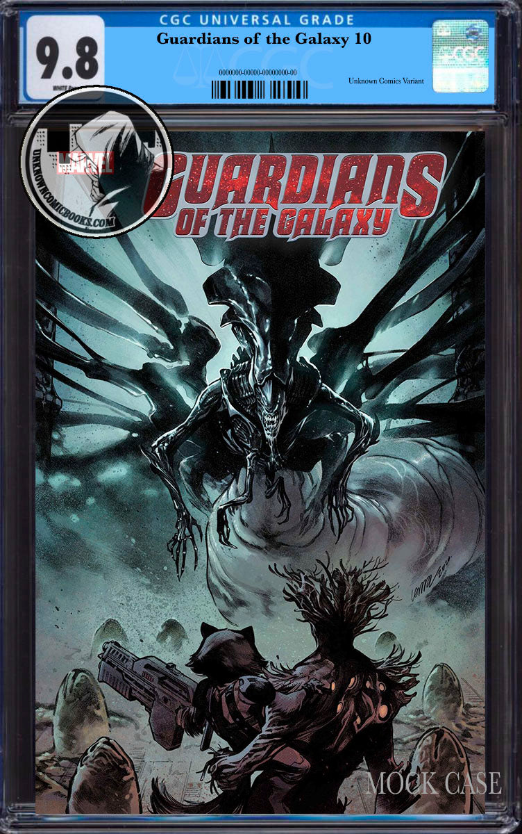 CGC 9.8 BLUE LABEL GUARDIANS OF THE GALAXY