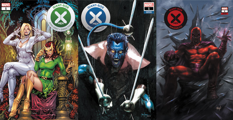 GIANT SIZE X-MEN 3 PACK SPECIAL (04/29/2020) (07/15/2020)