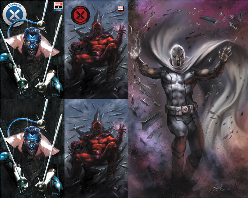 GIANT SIZE X-MEN MAGNETO/NIGHTCRAWLER 5 PACK SPECIAL (04/29/2020) (07/15/2020)