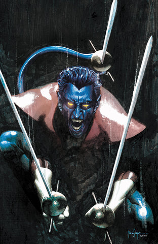 GIANT SIZE X-MEN NIGHTCRAWLER #1 UNKNOWN COMICS MICO SUAYAN EXCLUSIVE VIRGIN VAR (03/25/2020)