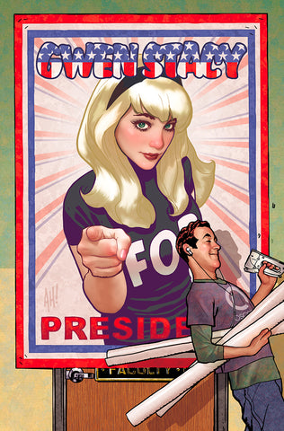 GWEN STACY #2 (OF 5) UNKNOWN COMICS ADAM HUGHES VIRGIN VAR (03/11/2020)