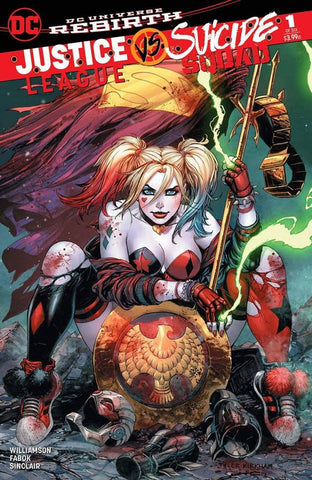 JUSTICE LEAGUE SUICIDE SQUAD #1 (OF 6) UNKNOWN COMIC BOOKS KIRKHAM EXCLUSIVE CVR A 12/21/2016