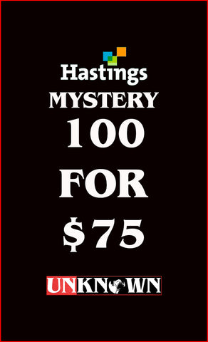100 FOR 75 MYSTERY BUNDLE HASTINGS EDITION (03/25/2020)