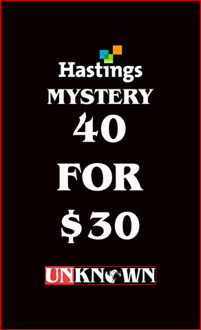 40 FOR 30 MYSTERY BUNDLE HASTINGS EDITION (03/25/2020)