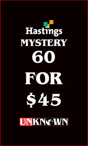 60 FOR 45 MYSTERY BUNDLE HASTINGS EDITION (03/25/2020)