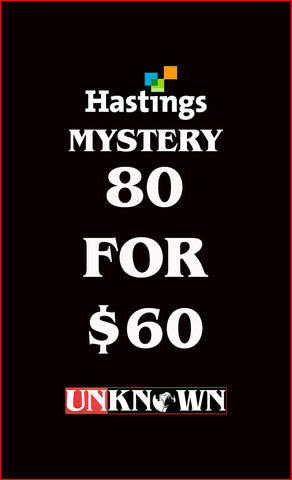 80 FOR 60 MYSTERY BUNDLE HASTINGS EDITION (03/25/2020)