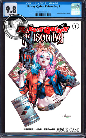 HARLEY QUINN & POISON IVY #1 (OF 6) UNKNOWN COMICS JAY ANACLETO EXCLUSIVE CGC 9.8 BLUE LABEL (01/30/2019)