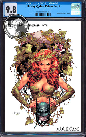 HARLEY QUINN & POISON IVY #2 (OF 6) UNKNOWN COMICS JAY ANACLETO MINMAL CGC 9.8 BLUE LABEL (01/30/2020)