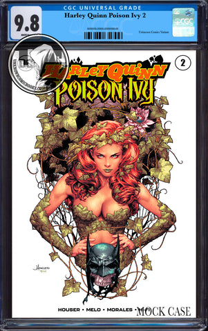 HARLEY QUINN & POISON IVY #2 (OF 6) UNKNOWN COMICS JAY ANACLETO CGC 9.8 BLUE LABEL (01/30/2019)