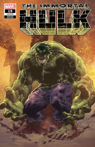 IMMORTAL HULK #19 MIKE DEODATO EXCLUSIVE COVER A (06/12/19)