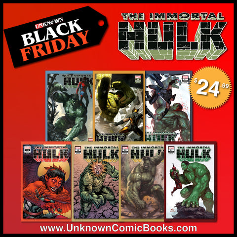 IMMORTAL HULK 7 PACK EXCLUSIVE BUNDLE BF (12/11/2019)