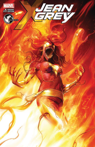 JEAN GREY #1 UNKNOWN COMIC BOOKS EXCLUSIVE CVR B MATTINA (05/03/2017)