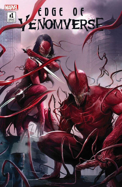 EDGE OF VENOMVERSE #1 FRANCESCO MATTINA EXCLUSIVE  6/28/2017