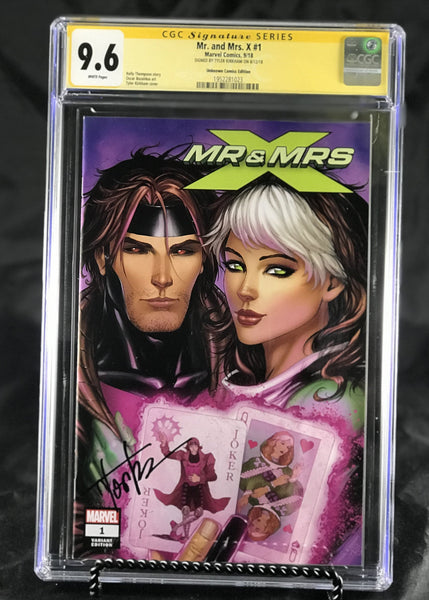 MR AND MRS X #1 UNKNOWN COMIC BOOKS KIRKHAM CUSTOMER APPRECIATION COVER CVR A CGC 9.6 SS YELLOW LABEL 10/30/2018