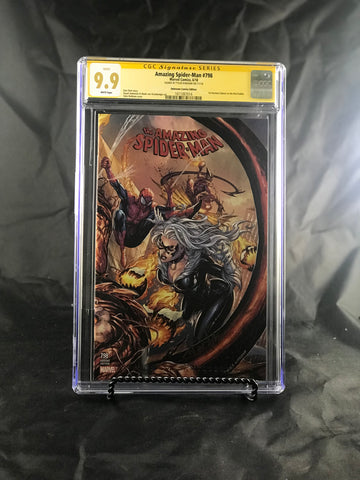 AMAZING SPIDER-MAN #798 UNKNOWN COMIC BOOKS KIRKHAM CVR A CGC 9.9 MINT SS YELLOW LABEL 1/23/2019