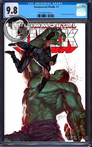 IMMORTAL HULK #17 INHYUK LEE EXCLUSIVE CGC 9.8 BLUE LABEL 7/30/2019