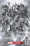MARVEL LEGACY #1 ROSS BW VAR 9/27/2017