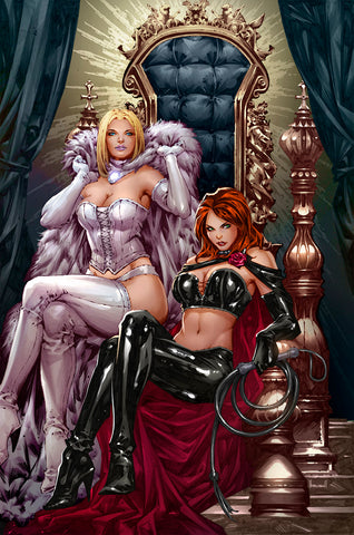GIANT SIZE X-MEN JEAN GREY & EMMA FROST #1 UNKNOWN COMICS KAEL NGU EXCLUSIVE C2E2 VAR DX (02/26/2020)