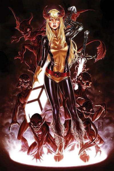 NEW MUTANTS DEAD SOULS #1 (OF 6) MARK BROOKS EXCLUSIVE 4 PACK 3/14/2018