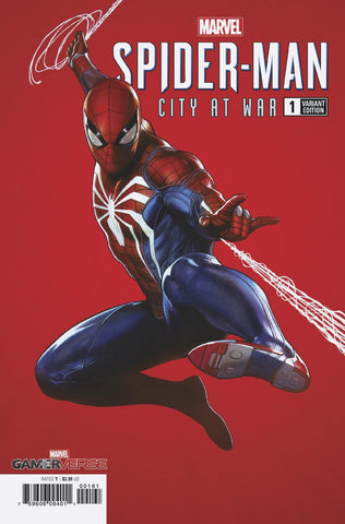 SPIDER-MAN CITY AT WAR #1 (OF 6) GRANOV VAR 1:100 3/20/2019