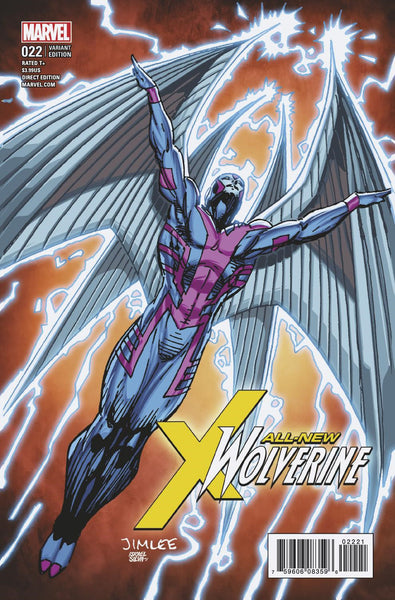ALL NEW WOLVERINE #22 X-MEN CARD VAR 7/5/2017