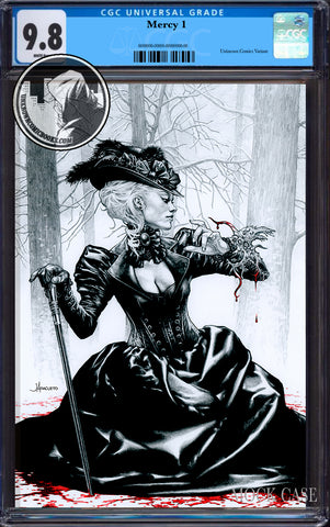 MIRKA ANDOLFO MERCY #1 UNKNOWN COMIC JAY ANACLETO EXCLUSIVE VIRGIN VAR ECCC (MR) CGC 9.8 BLUE LABEL (07/29/2020)